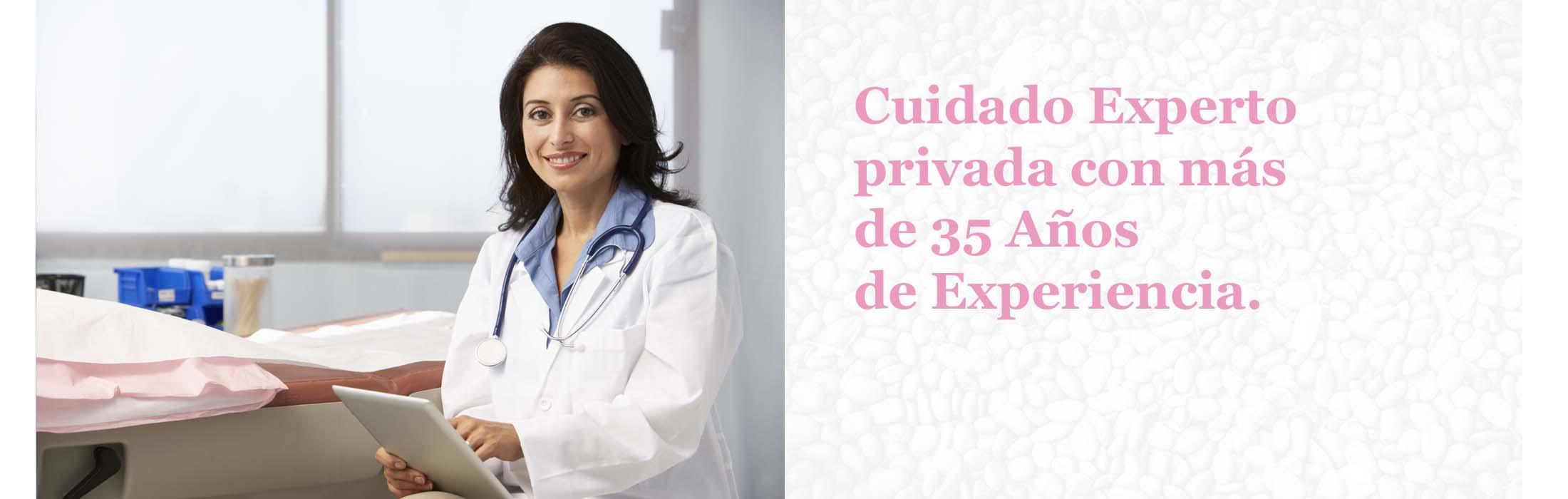 Cuidado Experto privada con más de 35 años de experiencia.